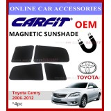 CARFIT OEM Magnetic Custom Fit Sunshade For Camry 06-12 (4pcs Sets)